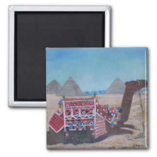 The pyramids of Giza Magnets