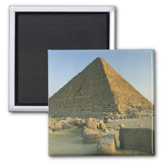 The Pyramids of Giza, which are alomost 5000 2 2 Inch Square Magnet