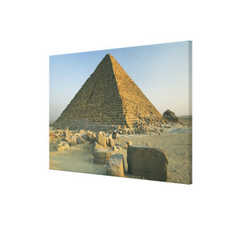 The Pyramids of Giza, which are alomost 5000 2 Canvas Print
