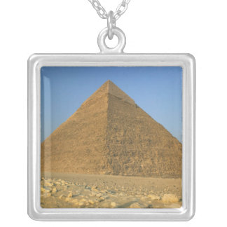 The Pyramids of Giza, which are alomost 5000 Silver Plated Necklace