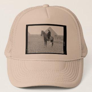 The Pyramids of Giza with Horseman circa 1934 Trucker Hat