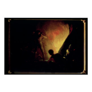 The Pyre, c.1800-05 Poster