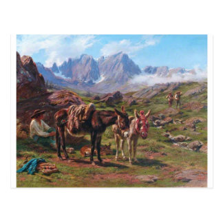 The Pyrenees by Rosa Bonheur Postcard