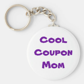 The Q-Tipping Mom Wearables Basic Round Button Keychain