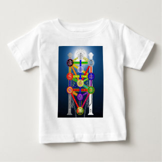 The Qabalistic Tree of Life Structure Diagram Baby T-Shirt