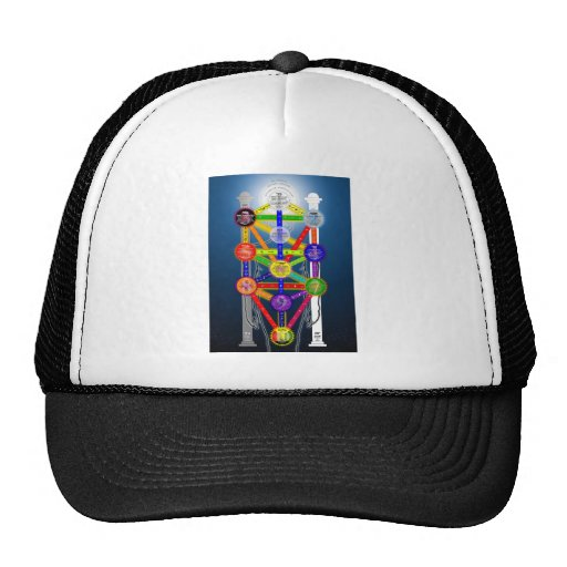 The Qabalistic Tree of Life Structure Diagram Hat