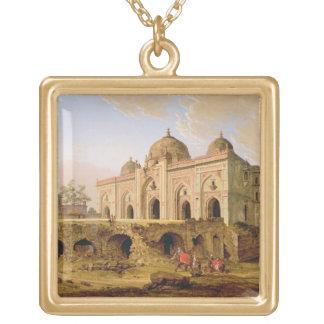 The Qal' A-l-Kuhna Masjid, Purana Qila, Delhi, c.1 Gold Plated Necklace