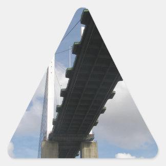 The QE2 Bridge Triangle Sticker