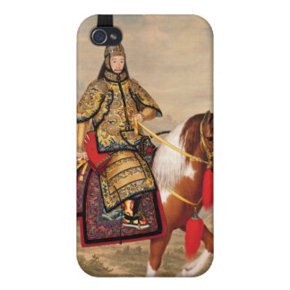 The Qianlong Emperor in Ceremonial Armour iPhone 4/4S Case