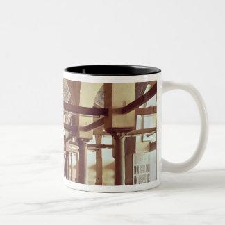 The Qibla Liwan of the Mosque of Al-Azhar Two-Tone Coffee Mug