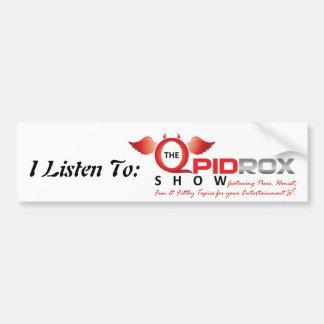 The Qpid Rox Show Bumper Sticker