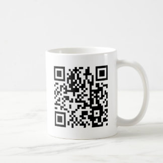 The QR Code Coffee Mug
