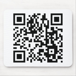 The QR Code Mouse Pad