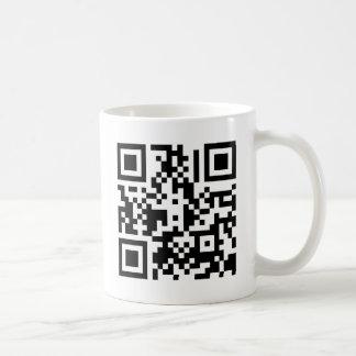 The QR Cube | Coffee Mug