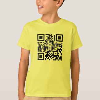 The QR Cube   Kids T-shirt