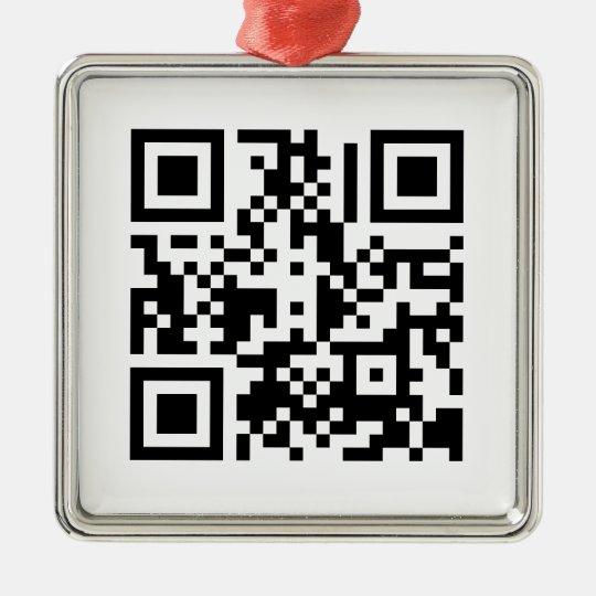 The QR Cube | Ornament