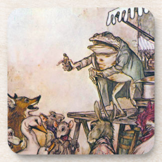 The Quack Frog Drink Coaster