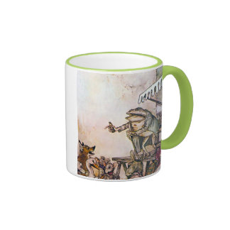 The Quack Frog Ringer Coffee Mug