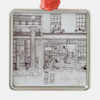 The Quadrant, Regent Street and Golden Lane Metal Ornament