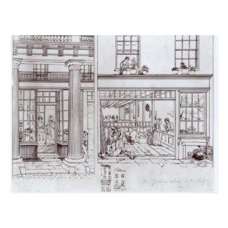 The Quadrant, Regent Street and Golden Lane Postcard