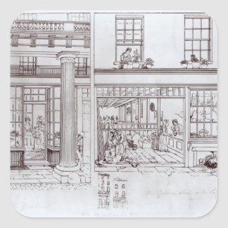 The Quadrant, Regent Street and Golden Lane Square Sticker