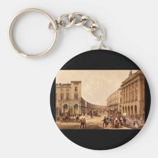The Quadrant - Regent Street_Engravings Basic Round Button Keychain
