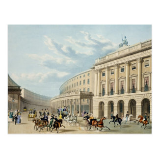 The Quadrant, Regent Street, from Piccadilly Circu Postcard