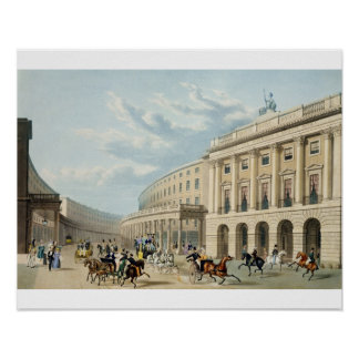 The Quadrant, Regent Street, from Piccadilly Circu Poster