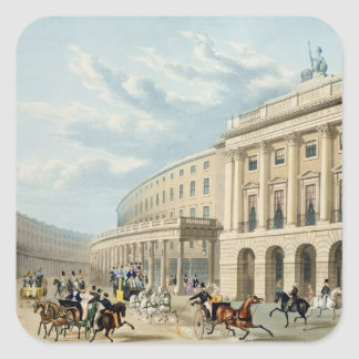 The Quadrant, Regent Street, from Piccadilly Circu Square Sticker