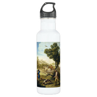 The Quail Hunting Francisco José Goya masterpiece Stainless Steel Water Bottle