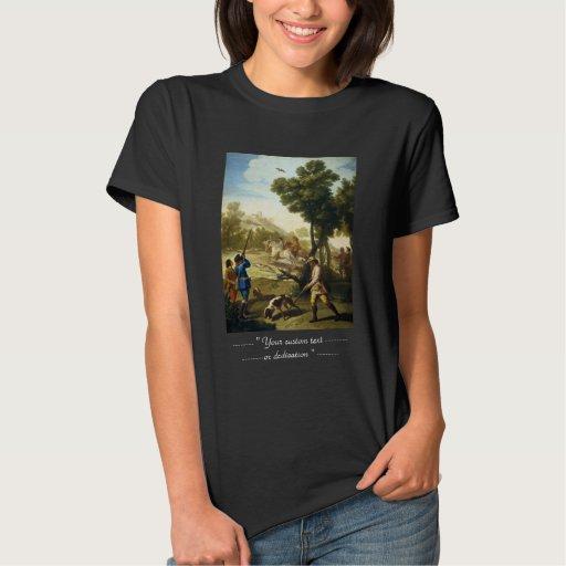 The Quail Hunting Francisco José Goya masterpiece T Shirt T-Shirt, Hoodie, Sweatshirt