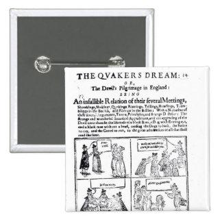 The Quakers Dream 2 Inch Square Button
