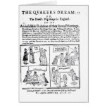 The Quakers Dream Greeting Card