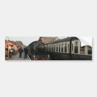 The Quantock Belle at Bishops Lydeard station Bumper Sticker