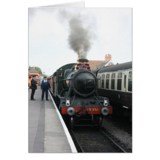 The Quantock Belle at Bishops Lydeard station Card