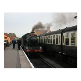 The Quantock Belle at Bishops Lydeard station Postcard