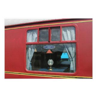 The Quantock Belle, Luxury Dining Train Photo Print