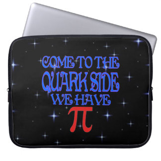 The Quark Side Laptop Sleeves