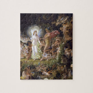The Quarrel of Oberon and Titania Jigsaw Puzzle