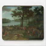 The Quarry at the Etangs de Commelles in 1771 Mouse Pad