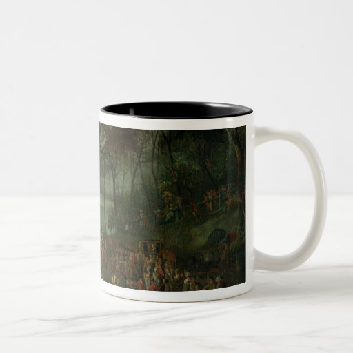 The Quarry at the Etangs de Commelles in 1771 Coffee Mug