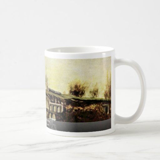 The Quarry Of Optevoz By Courbet Gustave Coffee Mug
