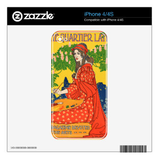 The Quartier Latin. A Magazine devoted to the Arts iPhone 4S Decal