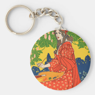 The Quartier Latin. A Magazine devoted to the Arts Keychain