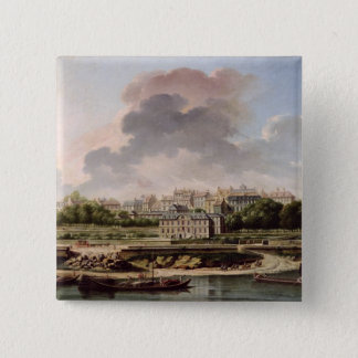 The Quay and Village of Passy in 1757 Button