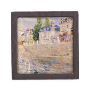 The Quay at Bougival by Berthe Morisot Gift Box