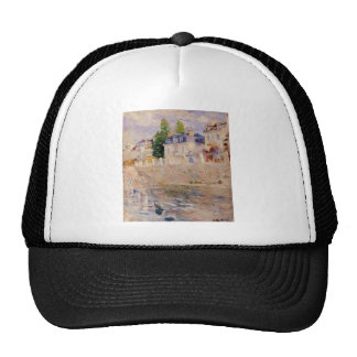 The Quay at Bougival by Berthe Morisot Trucker Hat