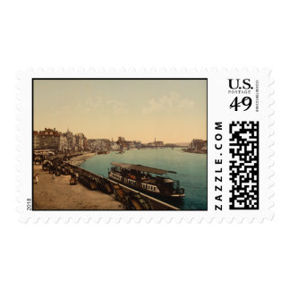 The Quay Liège Belgium Postage Stamps