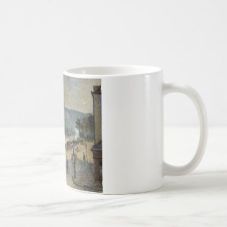 The Quays at Rouen by Camille Pissarro Coffee Mug