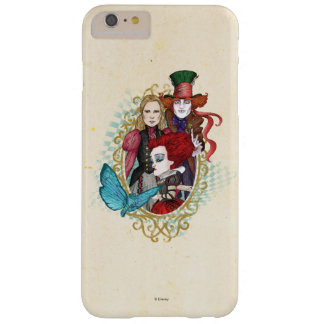 The Queen, Alice & Mad Hatter 3 Barely There iPhone 6 Plus Case